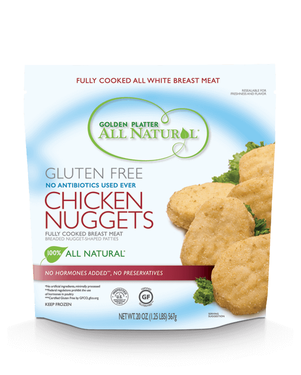 Gluten Free Antibiotic Free Chicken Nuggets