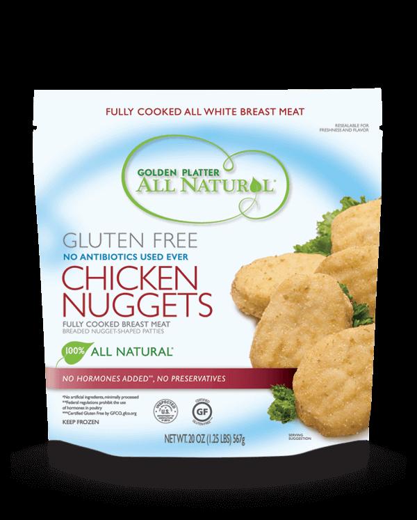 Gluten Free Antibiotic Free Chicken Nuggets