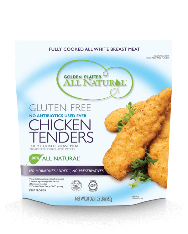 Gluten Free Antibiotic Free Chicken Tenders