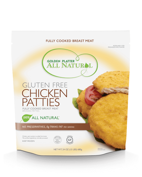 Gluten Free Chicken Patties