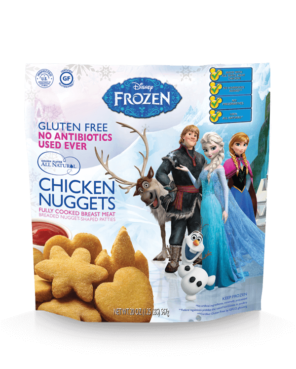 "Disney<span class=""reg"">&reg;</span> FROZEN<span class=""reg"">&copy;</span> Inspired Nuggets!"