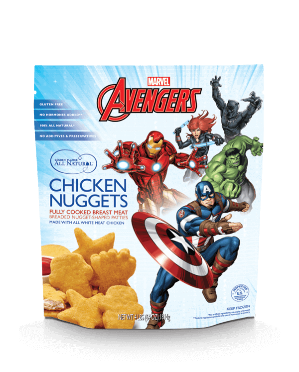 Marvel's Avengers Super Shaped Nuggets!