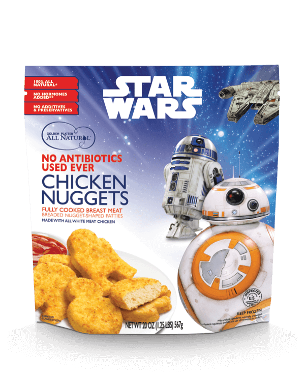 "STAR WARS<span class=""reg"">®</span> Inspired Nuggets!"