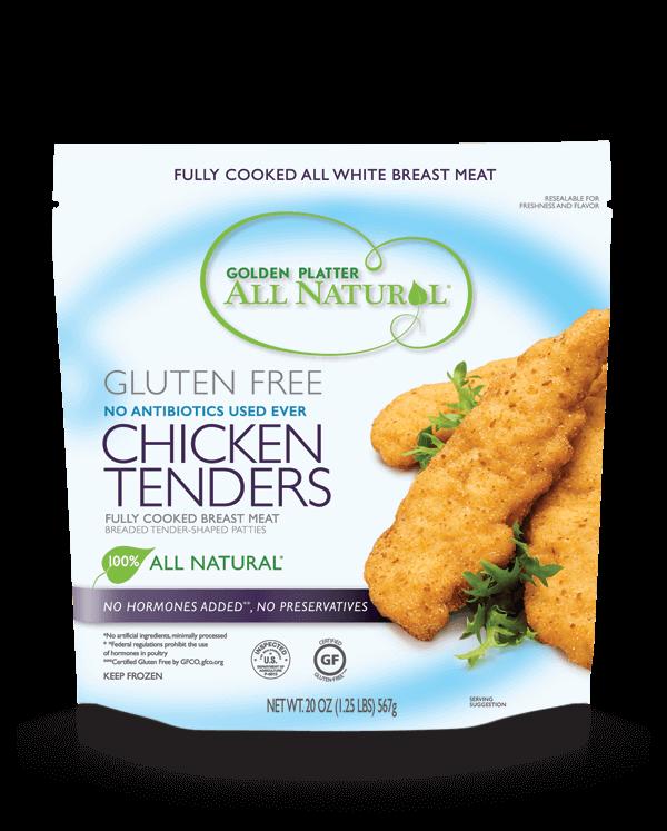 Gluten Free Antibiotic Free Chicken Tenders