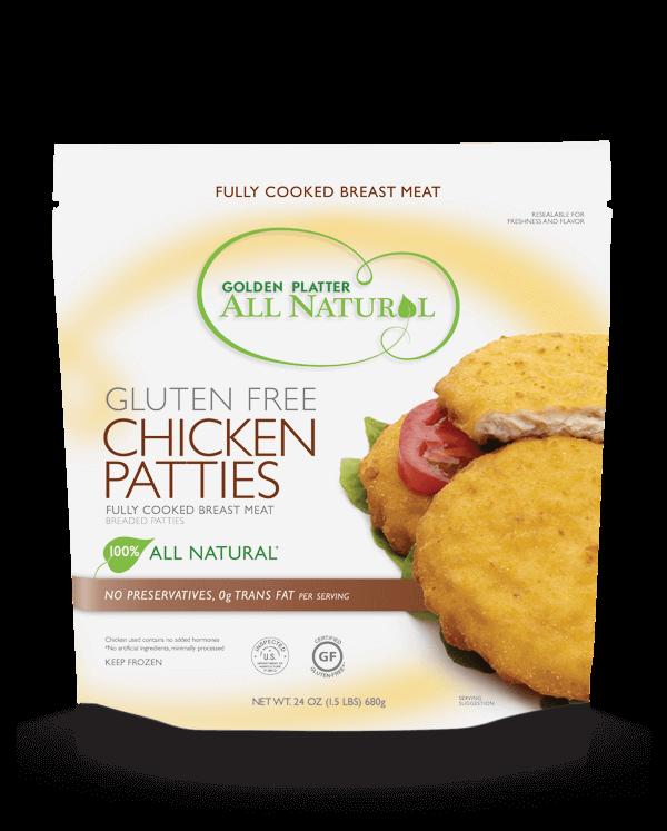 Gluten Free Chicken Patties