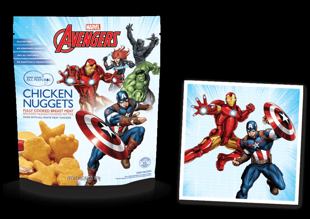 Marvel's Avengers Super Shaped Nuggets!
