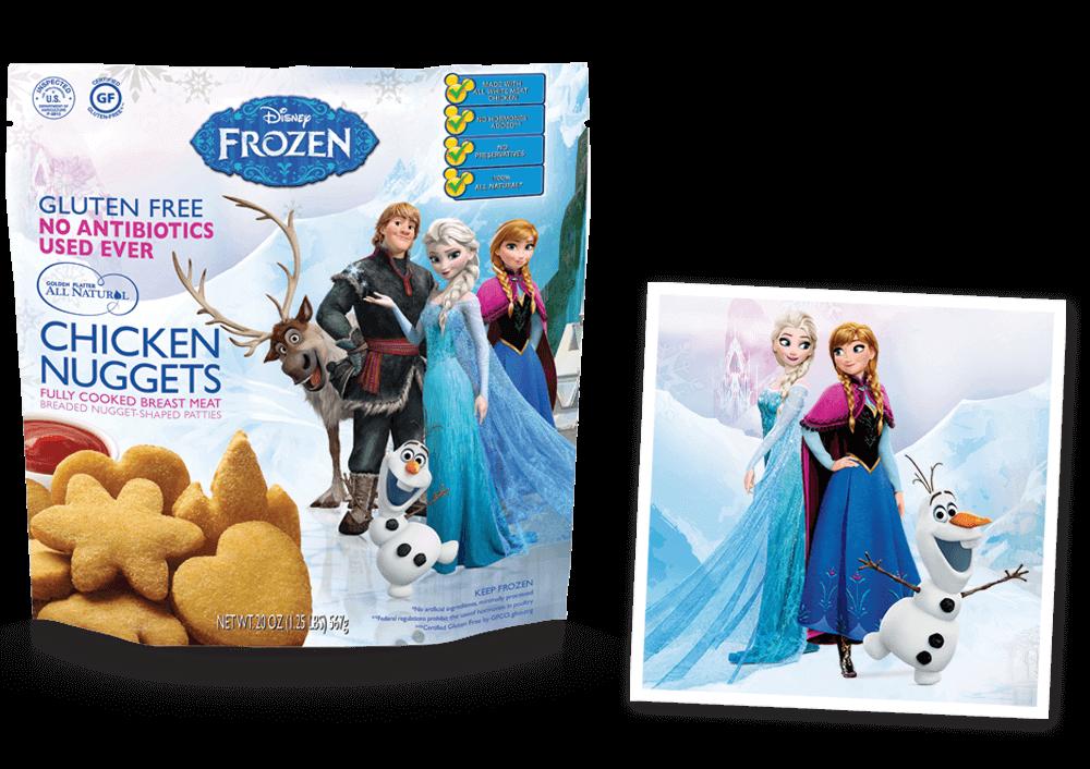 Disney® FROZEN© Inspired Nuggets!