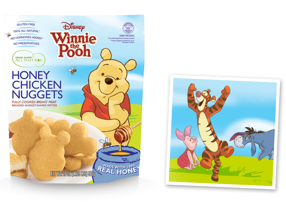 Disney® Winnie the Pooh Inspired Nuggets!